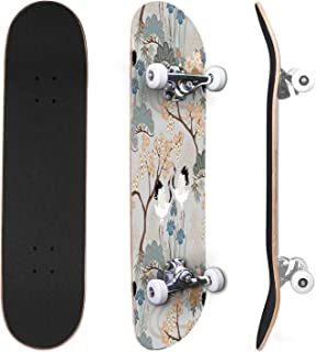Classic Concave Skateboard Cat Victory Canadian Maple Trick Skateboards for Beginners and Professionals