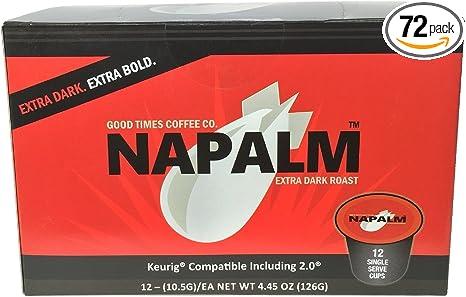 Naplam Extra Dark Roast Coffee, 100 Percent Arabica