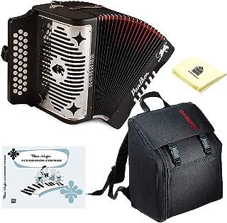hohner 3 row button accordion