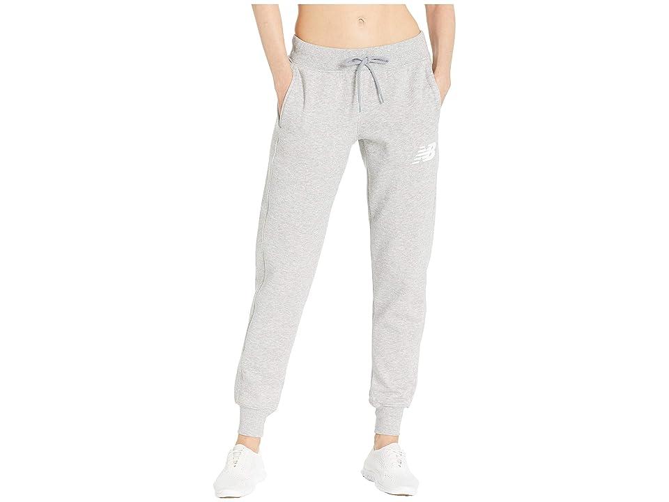 New Balance Core Tapered Sweatpants (Athletic Grey) Women