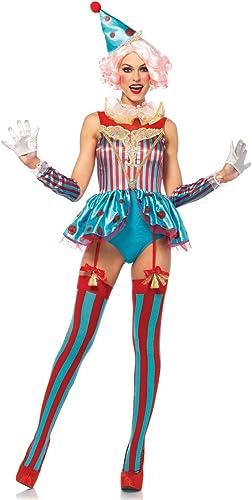 conveniente Leg Avenue delig htful Circo payaso para para para disfraz de mujer corta M  Todos los productos obtienen hasta un 34% de descuento.