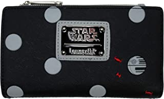 Loungefly x Star Wars Polka Dot Death Star Patterned Wallet