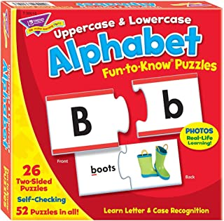Fun-to-Know® Puzzles: Uppercase & Lowercase Alphabet