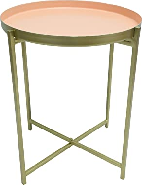 Side Table, Coffee Table, Accent Table for Small Spaces Living Room Bed Side Study Room