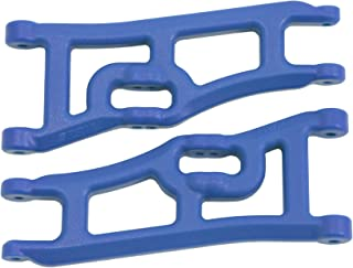 RPM 70665 Wide Front A-Arms, Traxxas E-Rustler and Stampede 2WD - Blue
