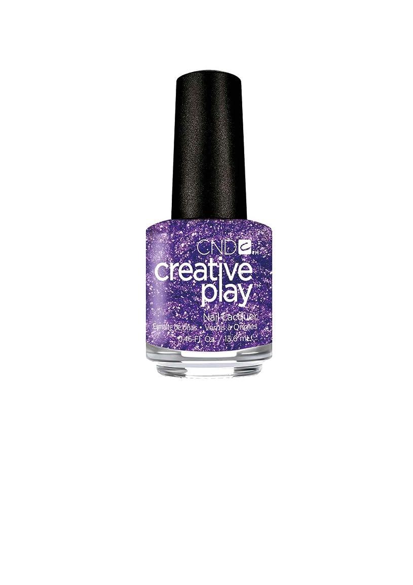 あたたかい擬人伴うCND Creative Play Lacquer - Miss Purplelarity - 0.46oz / 13.6ml