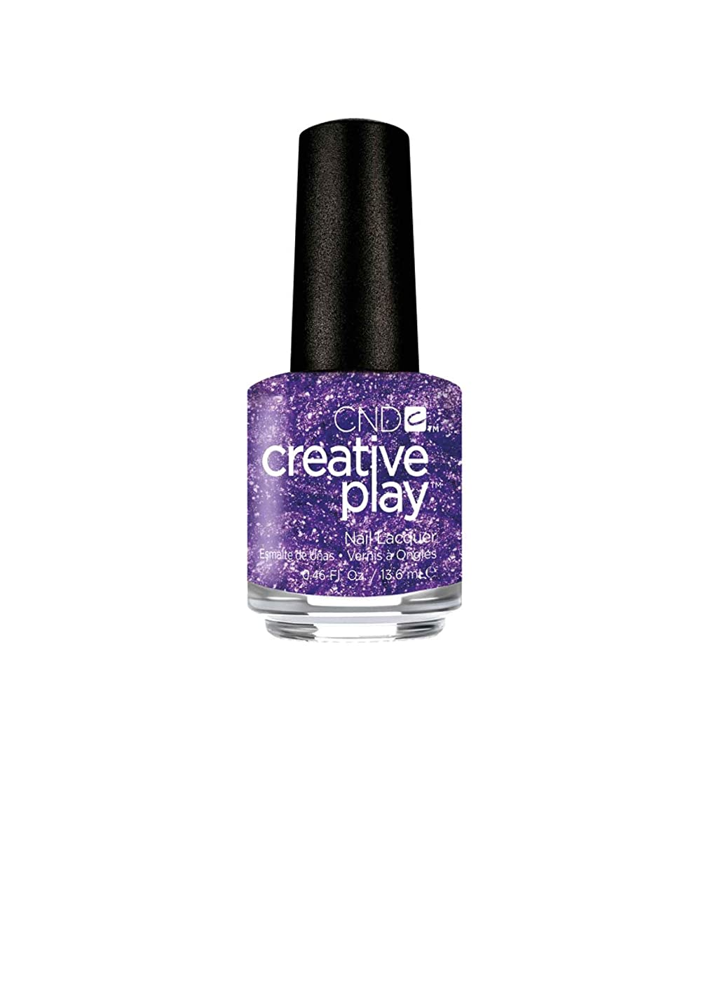 時制猫背組み合わせるCND Creative Play Lacquer - Miss Purplelarity - 0.46oz / 13.6ml