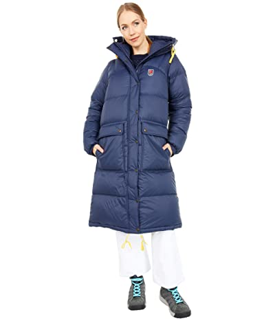Fjallraven Expedition Long Down Parka (Navy) Women