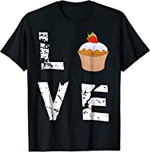 Love Muffin Cupcake Funny Food Valentine's Day T-Shirt