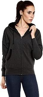 GOODTRY G Women's Cotton Hoodies-Charcoal Melange