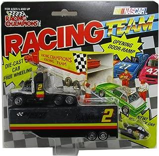 1994 Racing Champions Rusty Wallace #2 Nascar Team Transporter Penske Racing 1:87 Semi Tractor Trailor