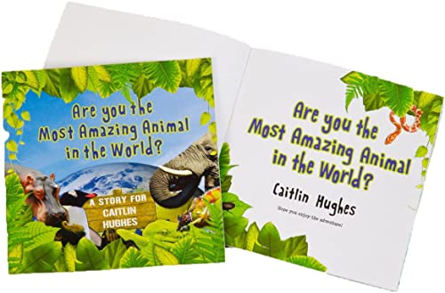 Most Amazing Animal Personalised Book by SIG