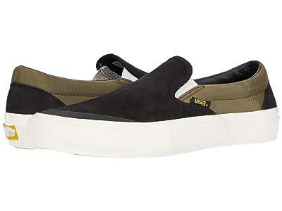 Vans Slip-On Pro ((Surplus) Black/Military) Skate Shoes