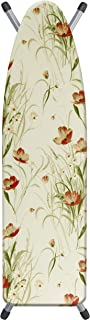 Laundry Solutions by Westex 4-Layer Ultra Thick Supreme Ironing Board Cover & Pad, Poppy Design
