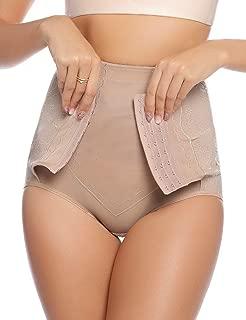 Hawiton Women's High Waist Thigh Body Shaper Butt Lifter Firm Control Panties Shapewear