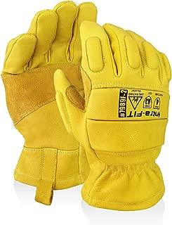 stanley leather work gloves