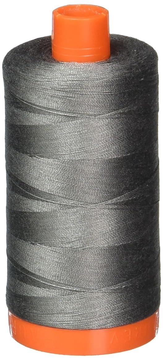 Aurifil A1050-5004 Solid 50W 1422 yd Grey Smoke Mako Cotton Thread