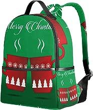 WIHVE School Backpacks Mulled Wine Cup Warm Shoulder Bag Bookbag