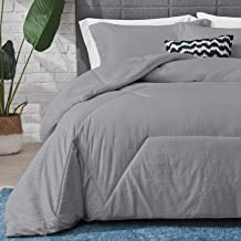 Hansleep Bedding Embossed Comforter Set Full/Queen, Ultra Soft Breathable Down Alternative Comforter Set Duvet Insert with...