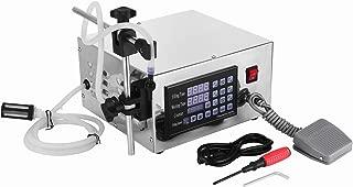 Happybuy Digital Liquid Filling Machine 5-3500ml Liquid Filler Machine 3.2L/min Liquid Bottle Filler Machine for Paste Cream Cosmetic