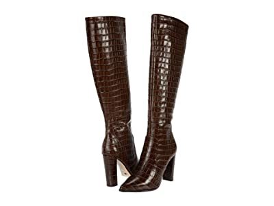 Tony Bianco Lucille (Chocolate Croc) Women