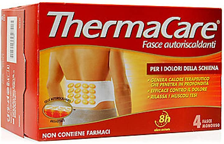 Thermacare schiena, 4 fasce - 10 ml THE0100004