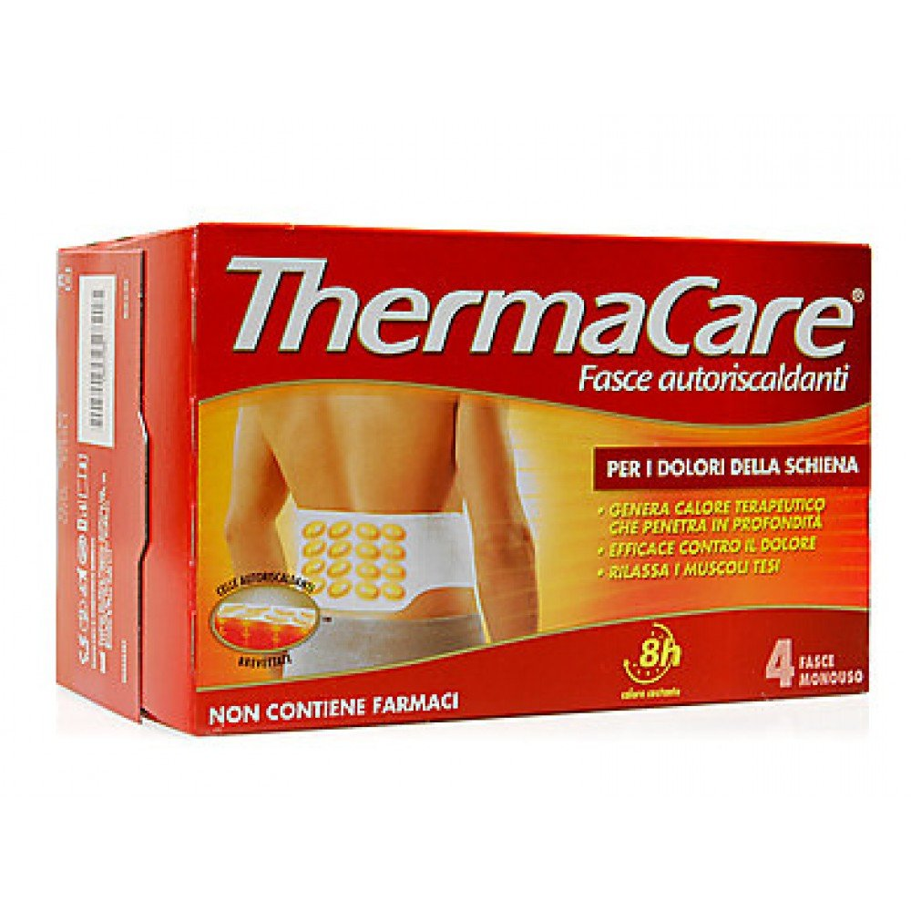 Thermacare schiena 4 fasce