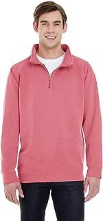 1580 Men's Adult 9.5 Oz. Quarter-Zip Sweatshirt