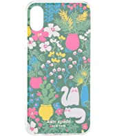 Kate Spade New York - Jeweled Garden Posy Phone Case For iPhone XS