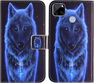 TienJueShi Wolf Fashion Stand TPU Silicone Book Stand Flip PU Leather Protector Phone Case For Oppo A15s 6.52 inch Cover E...