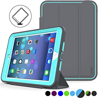 iPad Mini 1/2/ 3 Case(Not for mini4) Three Layer Heavy Duty Shock Poof Smart Cover, Auto..