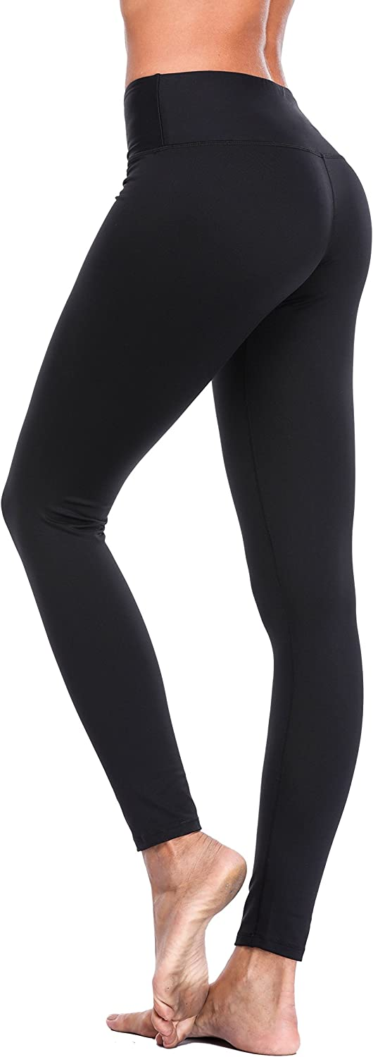 Belamo Women's Tummy Control Yoga Pants Running Leggings Workout Yoga Pants