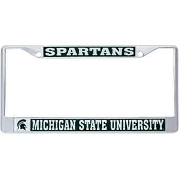 Desert Cactus Norfolk State University NSU Spartans NCAA Metal License Plate Frame for Front Back of Car Officially Licensed Mascot