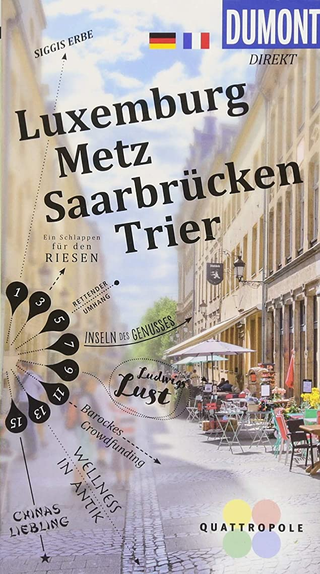 DuMont direkt Luxemburg, Metz, Saarbrücken, Trier: DuMont direkt Luxembourg, Metz, Sarrebruck et Trèves