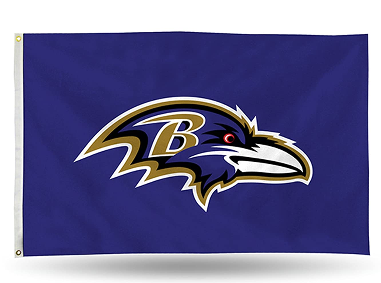 Baltimore Ravens Rico 3x5 Flag w/grommets Outdoor House Banner Football