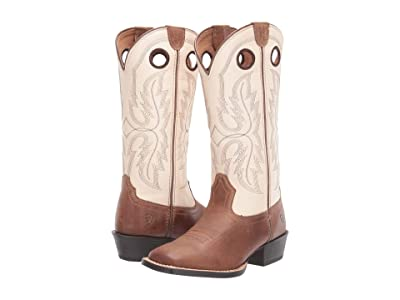 Ariat Kids Whippersnapper (Toddler/Little Kid/Big Kid) (Homestead Brown/Cantle Cream) Kid