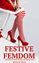 Festive Femdom: A Bundle of Three Steamy Christmas Male Submission Stories