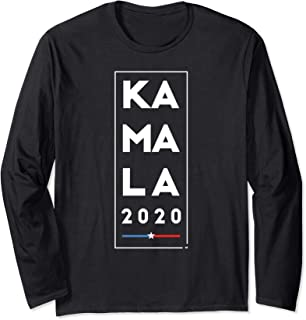 Kamala 2020 - Harris Supporter President Long Sleeve Shirt