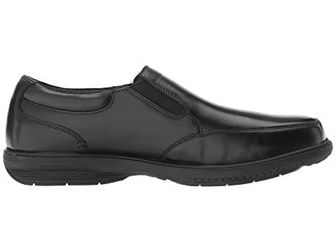 KORE with Street Resistant Walking Slip Comfort Toe Technology BlackBrown On Myles Bush Moc Slip Nunn w08U4q
