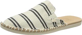 Reef Women's Shoes   Escape Mule, Black Stripes, 9