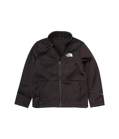 The North Face Kids Apex Risor Softshell Jacket (Little Kids/Big Kids) (TNF Black) Boy