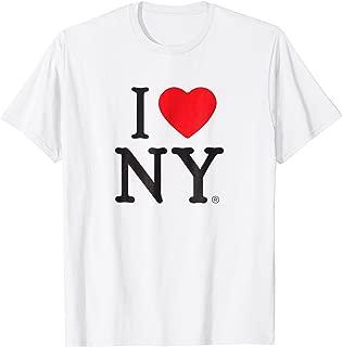 I Love NY Short Sleeve Print Heart New York T-Shirt