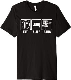 Disc Golf - Eat Sleep Bang Chains - Funny Sports Gift Premium T-Shirt