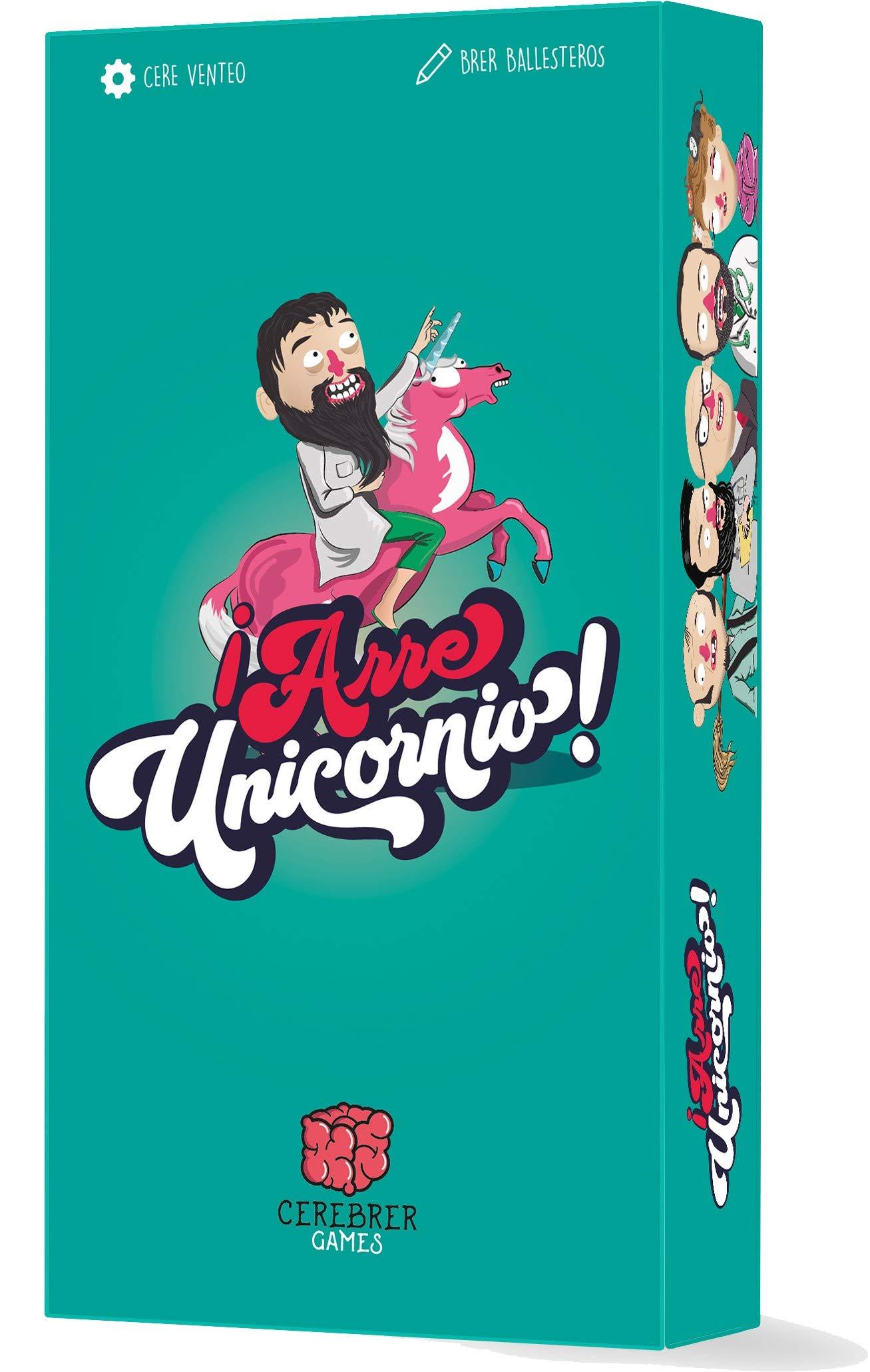Zacatrus! Juego de Cartas Arre Unicornio: Amazon.es: Juguetes y juegos