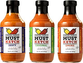 Sponsored Ad - Somers Family MustKetch – Original, Smoke, Zesty Flavor Options - A new twist on Mustard and Ketchup! All-N...