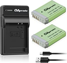 OAproda NB-13L Battery (2 Pack) and Slim USB NB-13L Battery Charger for Canon PowerShot G7 X,G7 X Mark II, G9X Mark II, SX740 HS, SX620 HS, G1 X Mark III, G5 X, G9 X, SX720 HS, SX730