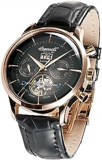 インガーソル 腕時計 自動巻き カレンダー ビッグデイト オープンハート 限定生産品 KEARNY IN1709RBK [並行輸入品]
