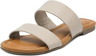 Women's Marlee Flat Two Strap Sandal 2 Band Slide