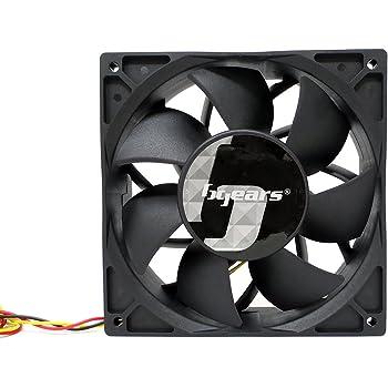 Bgears b-Blaster 140x38 Hi-Speed 5200RPM with 308CFM 2 Ball Bearing Fan Black