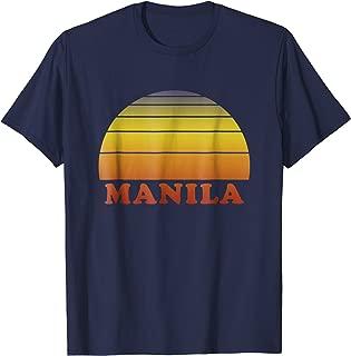 Manila Retro Vintage T Shirt 70s Throwback Surf Tee